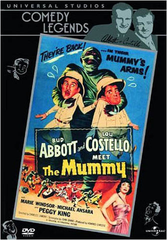 Abbott and Costello Meet the Mummy DVD Movie
