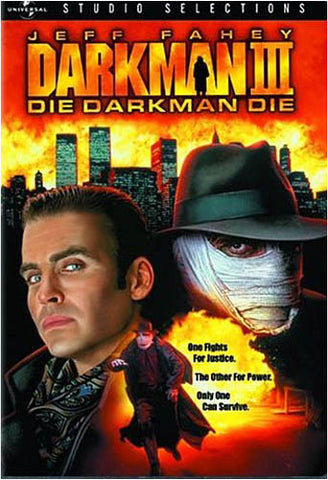 Darkman 3 - Die Darkman Die DVD Movie