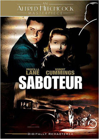 Saboteur - The Alfred Hitchcock Collection DVD Movie