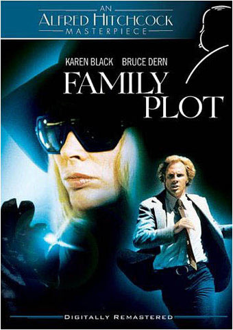 Family Plot - An Alfred Hitchcock Masterpiece (Blue) DVD Movie