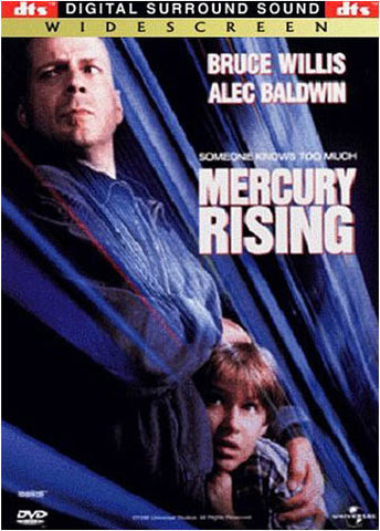 Mercury Rising - DTS (Wide Screen) DVD Movie