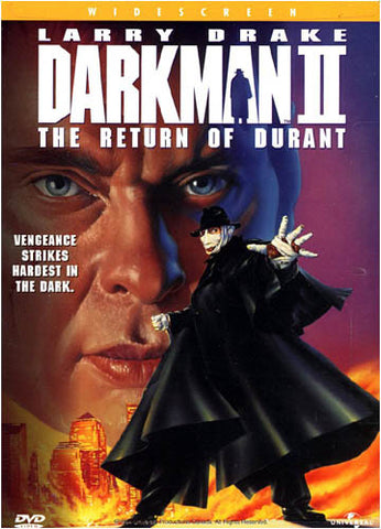 Darkman 2 - The Return of Durant DVD Movie