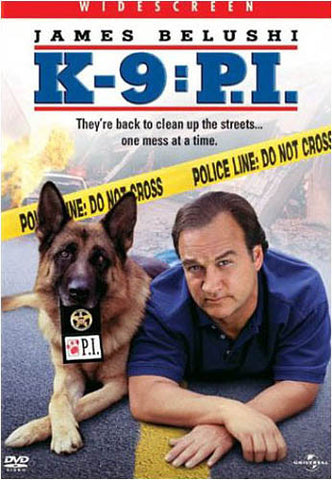 K-9 - P.I. (James Belushi) DVD Movie