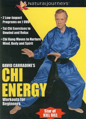 David Carradine's Chi Energy Workouts for Beginners