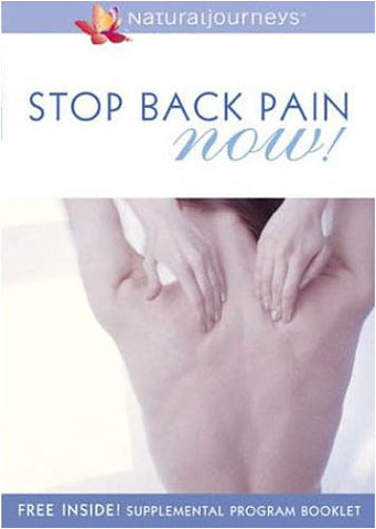 Stop Back Pain - Now! DVD Movie