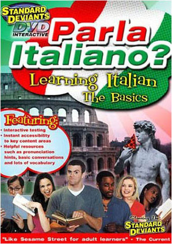 Standard Deviants - Parla Italiano - Learning Italian The Basics DVD Movie