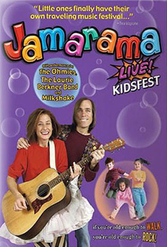 Jamarama - Live! Kidfest DVD Movie
