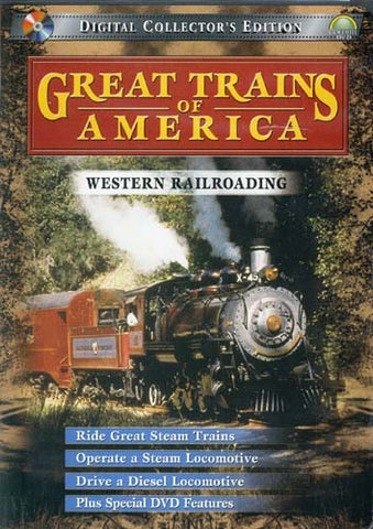 Great Trains of America - Western Railroading DVD Movie