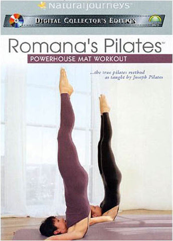 Romana's Pilates - Powerhouse Mat Workout DVD Movie