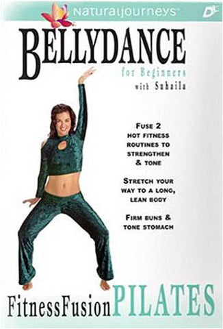 Bellydance With Suhaila - Fitness Fusion PilatesFor Beginners - Bellydance PilatesPilates DVD Movie
