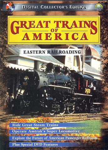 Great Trains of America - Eastern Railroading DVD Movie