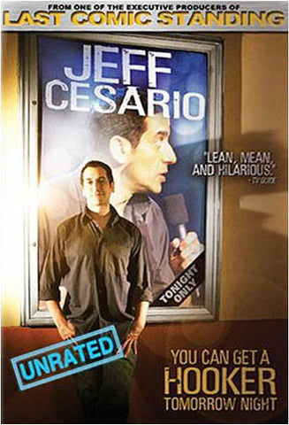 Jeff Cesario - You Can Get A Hooker Tomorrow Night DVD Movie