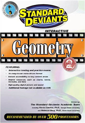 Standard Deviants - Geometry, Part 2 DVD Movie