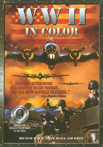 WWII In Color DVD Movie