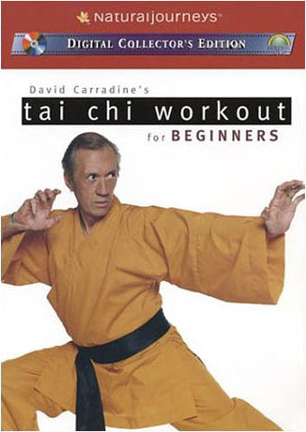 David Carradine's Tai Chi Workouts for Beginners DVD Movie