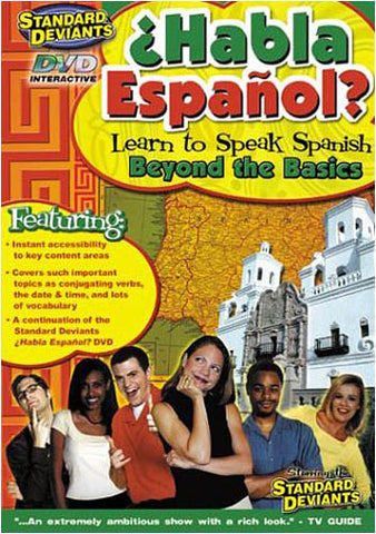 Standard Deviants - Habla Espanol - Learn To Speak Spanish - Beyond the Basics DVD Movie