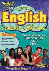 Standard Deviants - ESL (Learn English as a Second Language) - Prepositions, Questions, and Time