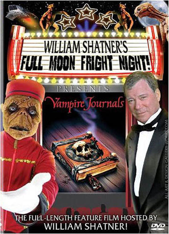 William Shatner's Full Moon Fright Night DVD Movie