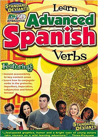 Standard Deviants - Learn Advanced Spanish - Verbs DVD Movie