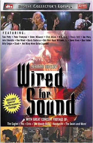Wired for Sound - A Guitar Odyssey DVD Movie