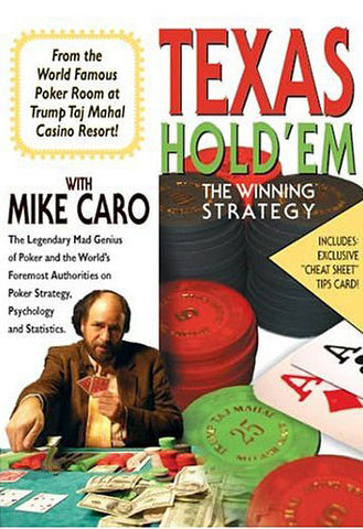 Texas Hold' Em - The Winning Strategy with MikeCaro DVD Movie