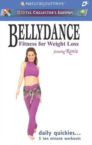 Bellydance - Fitness for Weight Loss featuring Rania: Daily Quickies... 5 Ten Minute Workouts DVD Movie