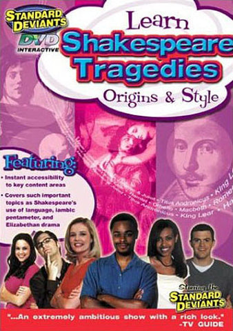 Standard Deviants - Learn Shakespeare Tragedies - Origins & Style DVD Movie