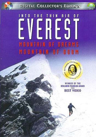 Everest, Into the Thin Air of- Mountain of Dreams, Mountain of Doom DVD Movie