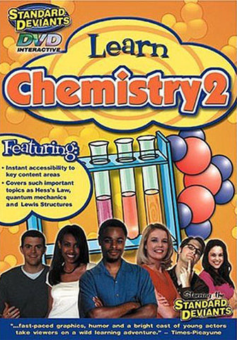 Standard Deviants - Learn Chemistry 2 DVD Movie