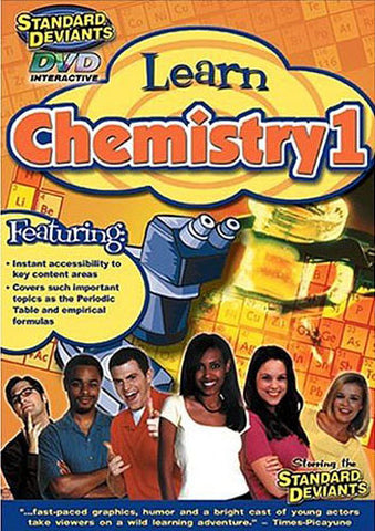 Standard Deviants - Learn Chemistry 1 DVD Movie