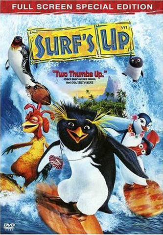 Surf s Up (Full Screen Special Edition) (Bilingual) DVD Movie