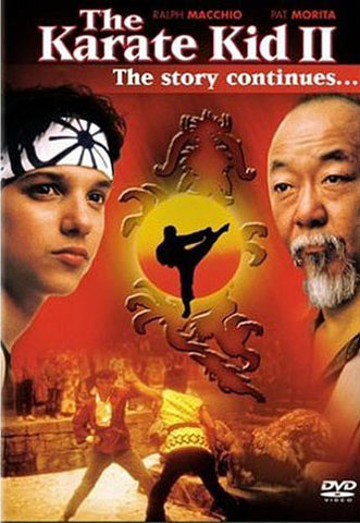 The Karate Kid 2 - The Story Continues... DVD Movie