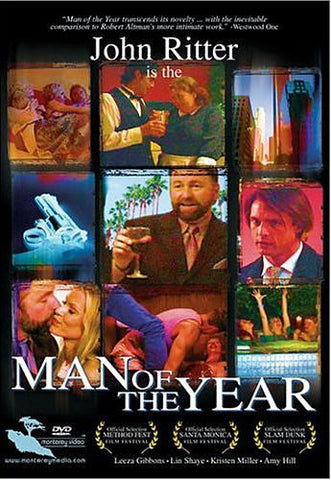 Man of the Year (John Ritter) DVD Movie