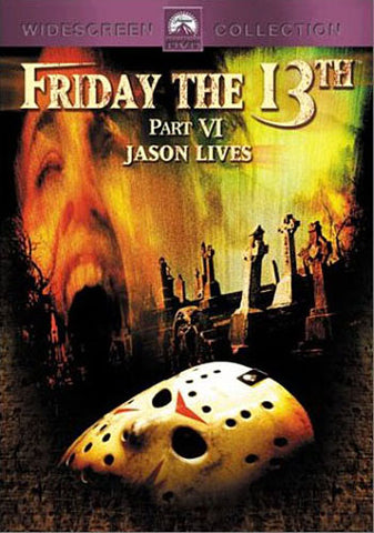 Friday the 13th, Part VI - Jason Lives DVD Movie