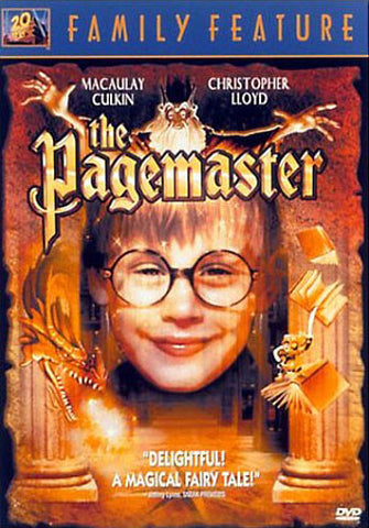 The Pagemaster DVD Movie