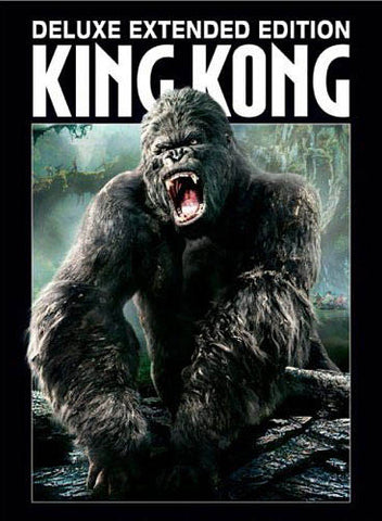 King Kong - Deluxe Extended Edition (Boxset) DVD Movie