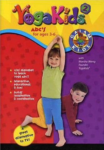Yoga Kids, Vol. 2: ABC s for Ages 3-6 DVD Movie