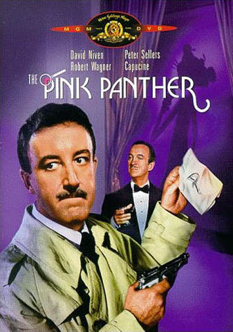 The Pink Panther (Purple Cover) DVD Movie