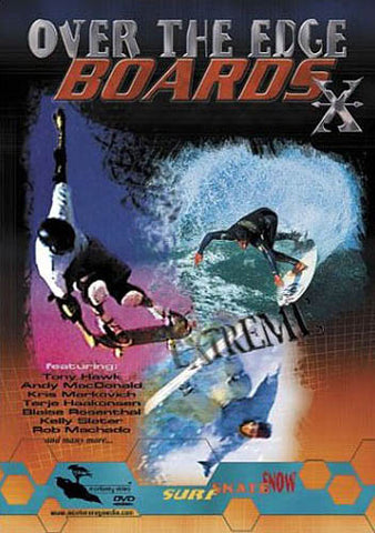 Over The Edge BoardsX DVD Movie