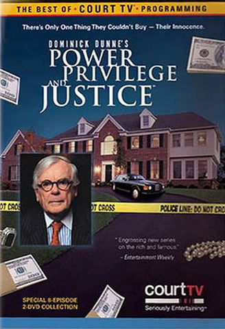 Power, Privilege, and Justice - Dominick Dunne s DVD Movie