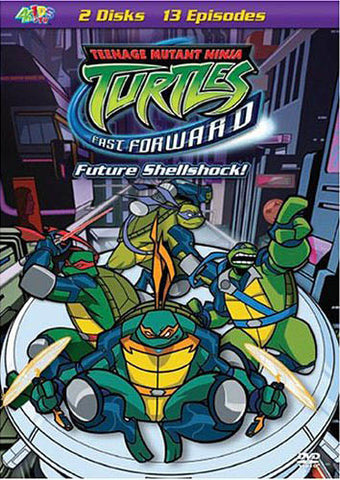 Teenage Mutant Ninja Turtles - Fast Forward - Future Shellshock! DVD Movie