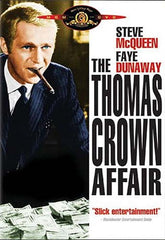 The Thomas Crown Affair (Steve McQueen) (White Cover) (MGM)