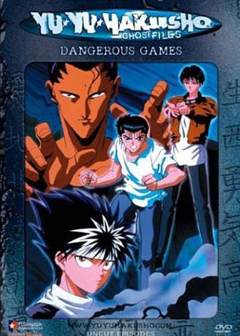Yu Yu Hakusho Ghost Files - Volume 23: Dangerous Games (Uncut) DVD Movie