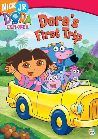 Dora The Explorer - Dora's First Trip DVD Movie
