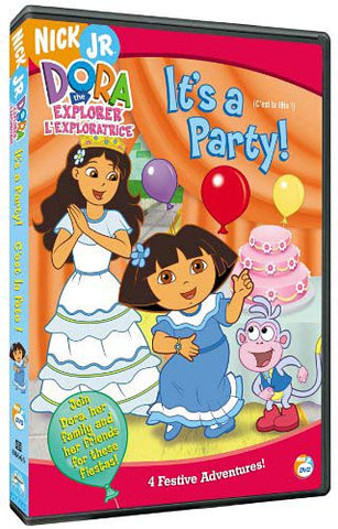 Dora The Explorer - It's a Party DVD Movie