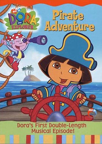 Dora the Explorer - Pirate Adventure DVD Movie