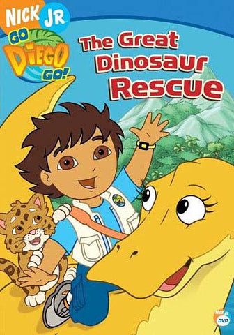 Go Diego Go! - The Great Dinosaur Rescue DVD Movie