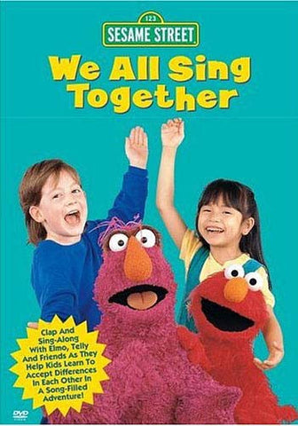 We All Sing Together - (Sesame Street) DVD Movie