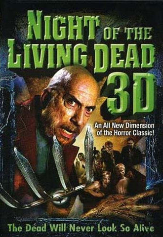 Night of the Living Dead - 3D (Jeff Broadstreet) ** NOT 2D Version** DVD Movie