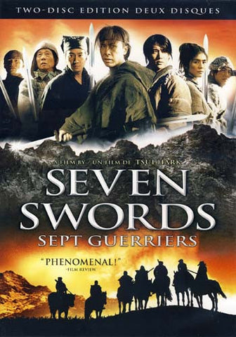 Seven Swords (Two-Disc Edition) (Bilingual) DVD Movie
